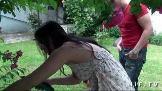 คลิปหลุดสาวเอเชียเจอหนุ่มฝรั่งทักทายกันลงเอยด้วยการเย็ด